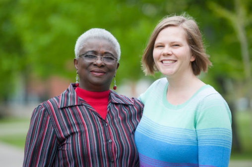 Joy Ikede and Adrienne Montgomery Murchison